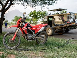 12 Day Tanzania Motorcycle Tour in the Vast African Wilderness