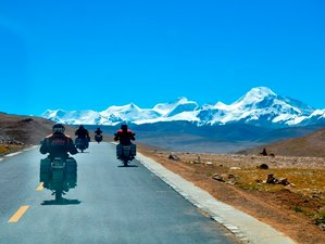 16 Day Guided Specialized Himalayan Motorbike Tour from Nepal to Tibet