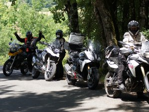 8 Days Guided Motorcycle Tour in South West France