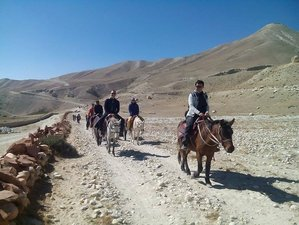 9 Day Horse Ride Trekking Point-to-Point Trail in Lower Mustang, Nepal