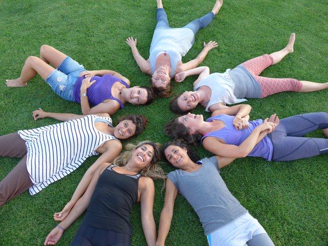 28 días profesorado de 200 horas de yoga en Grecia