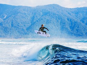 6 Days Wilderness Surf Camp in South Island, New Zealand