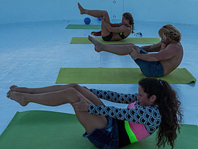 7 Days Pilates and Surf Camp Maldives