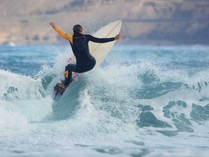 8 Day Dolphin Package for Beginners Surf Camp in Gran Canaria