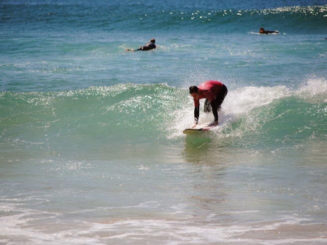 8 Days Learn to Surf Camp in Praia da Luz, Lagos, Portugal
