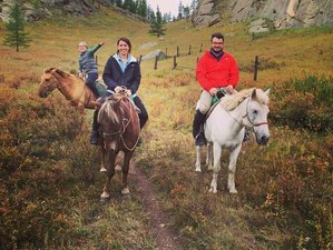5 Day Central Mongolia and Terelj National Park Horse Trekking Holiday in Mongolia