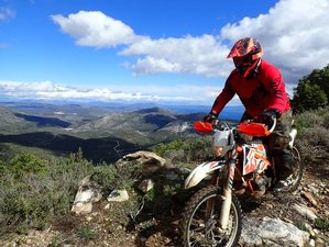 7 Day Guided Adventure Enduro Motorcycle Tour in Greece