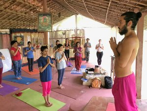 30 Days 500-Hour Yoga Teacher Training by Pundit Radheshyam Mishra in Madhya Pradesh, India