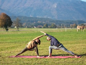 4 Day Weekend Yoga Retreat with Meditation Surrounded by Alps in the Logarska Valley