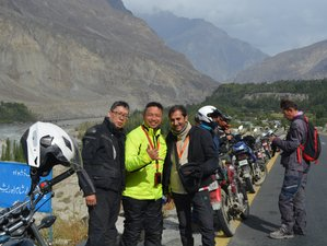 9 Day Karakoram Guided Motorcycle Tour Pakistan
