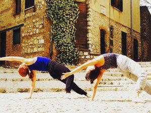 14 Tage Yoga Urlaub in Casperia, Italien