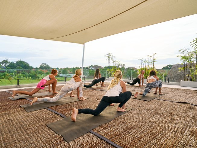 4 Days Designed for Women Yoga, Surf and Spa Retreat in Bali