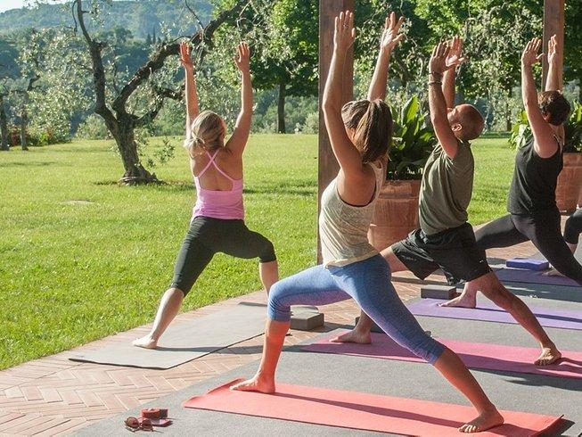 4 días retiro de yoga en la Toscana, Italia