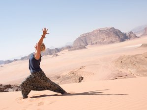 8 Day Elemental Wisdom Yoga Holiday in the Southern Desert of Jordan