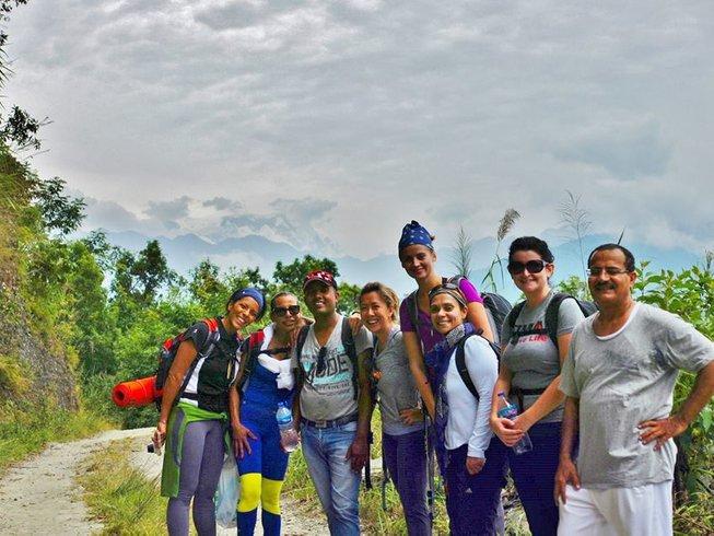 6 Days Yoga and Hills Trekking Retreat in Nepal
