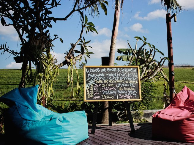 7 Days All Levels Bali Surfing and Yoga Retreat