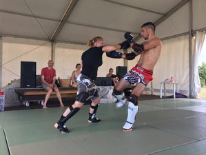 4 Days of Silent Warrior Yoga and MMA Camp in Sezzadio, Italy