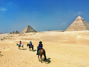 3 Days Captivating Cairo Horse Riding Holiday in Egypt