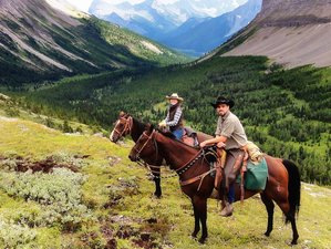 6 Days Ultimate Backcountry Horse Riding Holiday in Banff, Canada