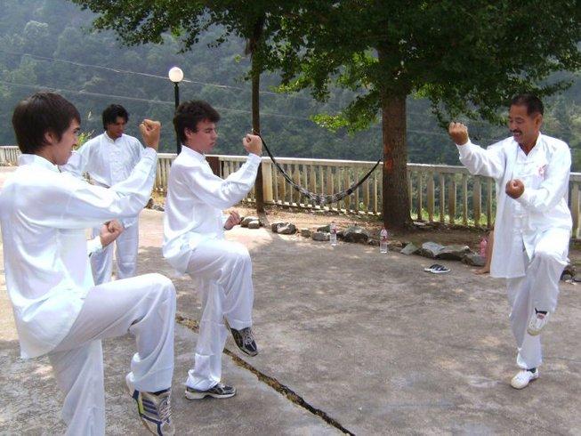 2 Weeks Tai Chi, Qi Gong, and Kung Fu Vacation in China