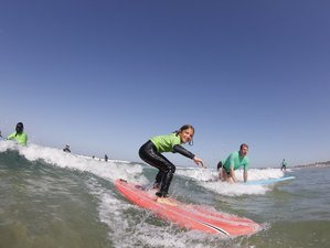 8 Days Family Yoga and Surf Camp in Andalusia