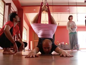 15 Days Yoga Holiday with Aerial Suspension Yoga™ Teacher Training, in Mysore, India