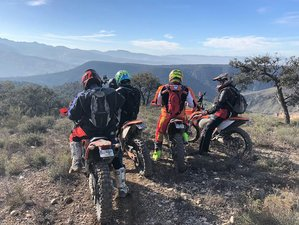 7 Days Guided Tropicana and Badlands Enduro Motorcycle Tour in Granada, Spain.