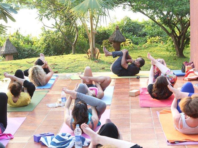 8 jours en retraite de yoga, méditation et ayurveda dans le Kerala, Inde