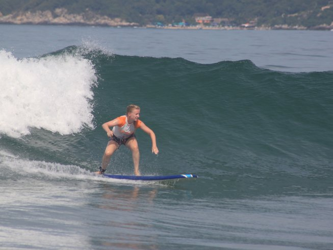 14 Days Surf Camp and Yoga Retreat in Mexico