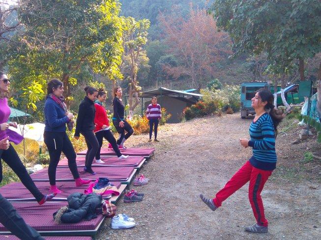 5 Days Yoga Camp in India