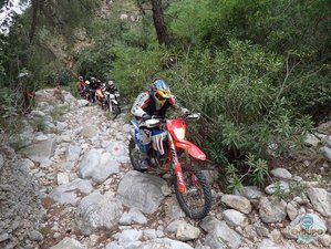 6 Day Guided Adventure Enduro Motorcycle Tour in Greece
