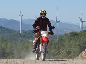 2 Day Guided Motorcycle Trail Riding Tour on the Trans Euro Trail in Catalonia, Spain