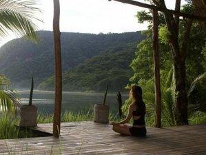 8 jours en retraite de yoga et méditation sous le soleil d'hiver et dans la nature au Nicaragua