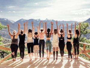 8 jours en stage de yoga et fitness dans un chalet 5* avec prestations haut de gamme à Chamonix