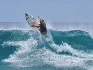 5 Day Excursions and Advance Skilled Level Surf Camp in Thulusdhoo, Kaafu Atoll