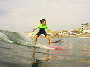 11 Day Surf Camp with Professionals in Huanchaco, La Libertad