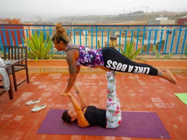 8 Days Morocco Surf & Yoga Retreat with Carine Yani-Sheran Lemaitre