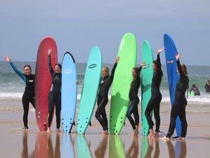 8 Day Surf Camp in Costa da Caparica, Almada