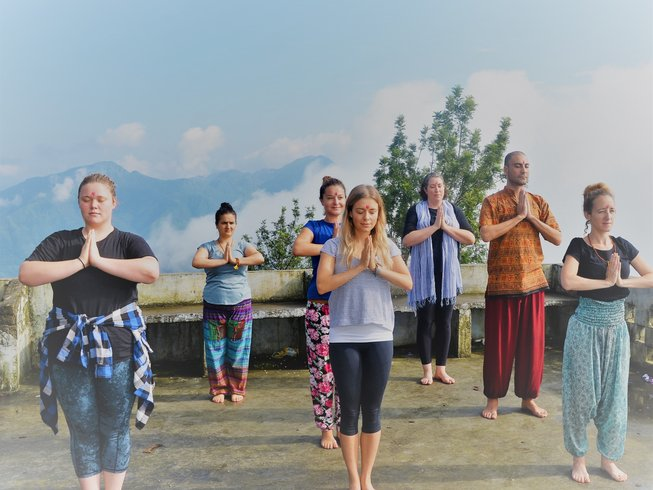3 jours en week-end de yoga à Rishikesh, Inde