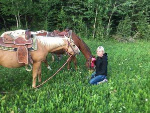 2 Day Back Country Horseback Riding Vacation in Prince Albert National Park, Saskatchewan