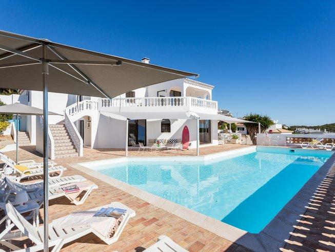 7 Days Yoga and Surf Holiday in Burgau, Algarve, Portugal