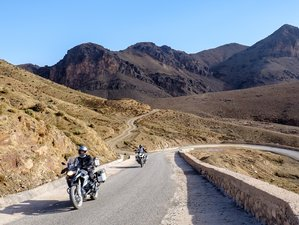 9 Days Atlas and Desert Motorcycle Tour Morocco