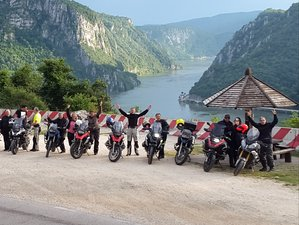 9 Days Cross-Country Motorcycle Tour in Romania
