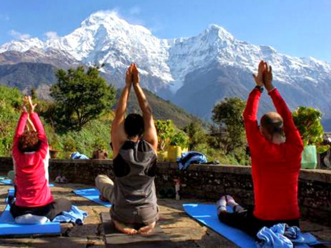 6 Days Beyond Smile Meditation and Yoga in Nepal