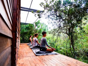 28 Days Mindfulness Meditation and Yoga Mountain Retreat in Colombia