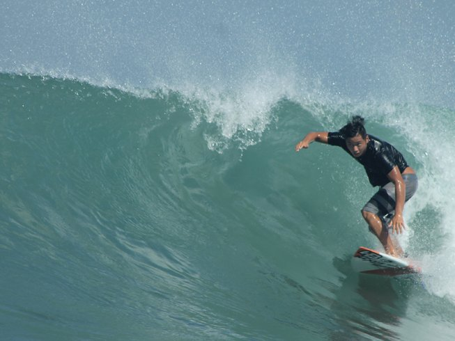 5 Days Semi-Private Surfing Lesson Surf Camp Bali