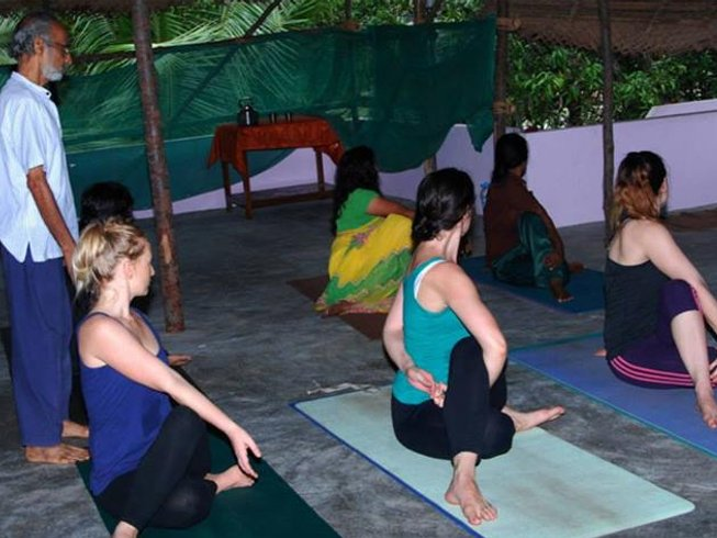7 Days Yoga Retreat and Cooking Course in Kerala, India