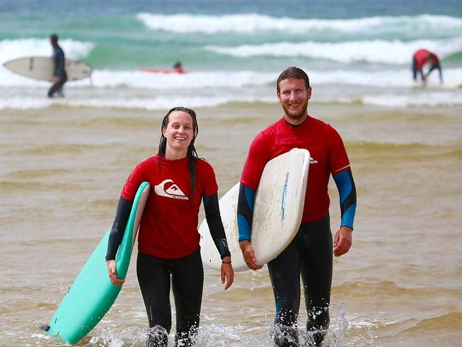 8 Days All-Levels Surf Camp in Sargacal, Lagos, Portugal