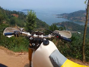 8 Days National Parks Guided Motorcycle Tour in Rwanda
