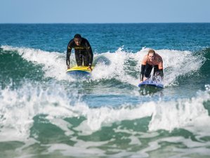 2 Day Weekend Camping, Yoga, and Surf Holiday in Cornwall, South West England